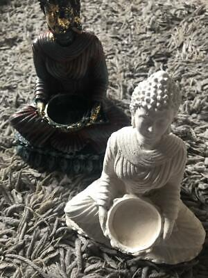 Latex Mould To Create This Buddha Candle Holder • 19.95£