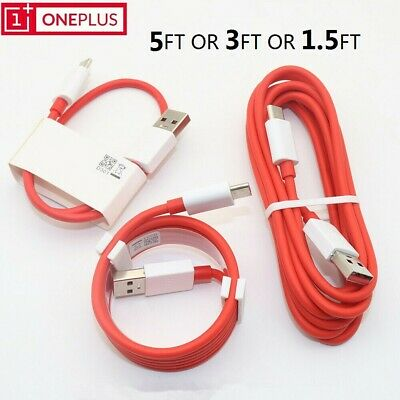AU6.41 • Buy DASH USB Type-C Cable Fast Charger Sync Cord CABLE For OnePlus 3/3T/5/5T/6/6T