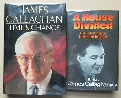 £3500 • Buy James Callaghan - A House Divided - Signed To Harold Wilson 1973 UK 1st DJ