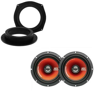 MTX TR65C 6.5  17cm Coaxial Underseat Audio MDF Speaker Upgrade For BMW • 54.58£