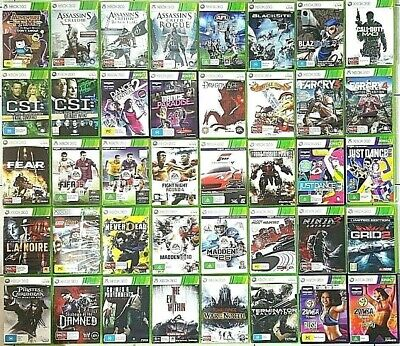 AU14.90 • Buy XBOX 360 Games : Select Your Titles - Microsoft Xbox 360 - FREE POST
