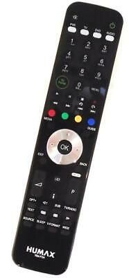 New Genuine Humax RM-F04 Freeview+ HD Remote For HD-FOX T2  HDR-FOX T2 PVR Boxes • 23.95£