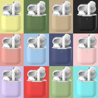 $ CDN2.29 • Buy Premium Airpods Silicone Case Cover Protective Skin For Apple New Airpod 2 / 1