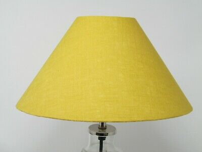 £35.50 • Buy Coolie Tapered 100% Linen Lampshade Light Shade Choice Of Colours Available