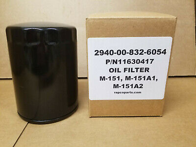 $18.50 • Buy M151 Parts Engine Oil Filter NEW 11630417 2940-00-832-6054