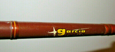 $80 • Buy * Vtg GARCIA CONOLON 2509T 2 Pc Spin Rod Fast Taper MED LIGHT 6' 4  Shortened*