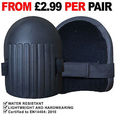 Lightweight Moulded Knee Pad Soft Foam Pads With Strap Sport Work Kneepad • 5.99£