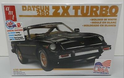 $22 • Buy Datsun 280 Zx Turbo Sports Car Sealed 1980 White T Tops 1981 1/2 Amt Model Kit