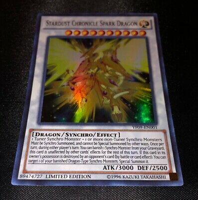 Stardust Chronicle Spark Dragon - YF09-EN001 - Limited Edition - Ultra - Yugioh • 11.99£