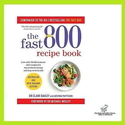AU25 • Buy The Fast 800 Recipe Book: Australian And New Zealand Edition (Paperback)