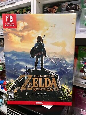 $159.99 • Buy The Legend Of Zelda: Breath Of The Wild - Special Edition For Nintendo Switch