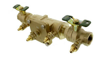 "$132.50 • Buy Watts 3/4"" Double Check Valve Assembly Backflow Device- Lead Free LF007M3QT"