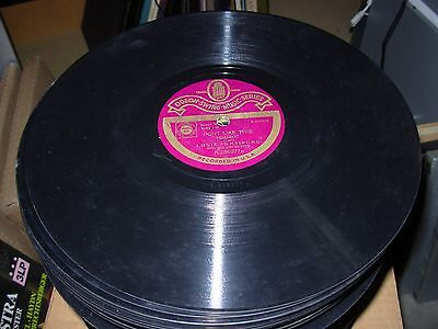 LOUIS ARMSTRONG Tight Like This / Star Dust ( Jazz ) 78 Rpm Odeon 286077 • 40$