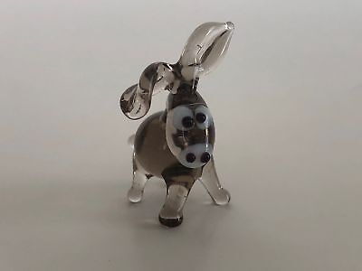 $5 • Buy Collectibles Miniature Blown Glass Donkey Figurine