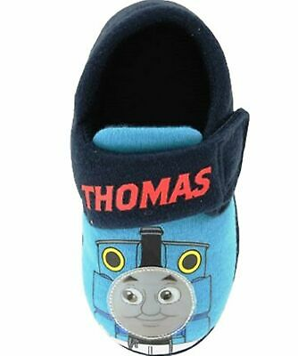 Thomas The Tank Engine Boys Slippers  In Jersey Fabric With Touch Fastening • 9.95£