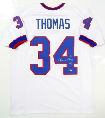 $ CDN182.44 • Buy Thurman Thomas Autographed White Pro Style Jersey- Beckett Auth *