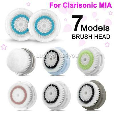 AU22.95 • Buy 3X Clarisonic Cleanser Series Replaced Brush Head For Mia, Mia 2 -All Skin Types
