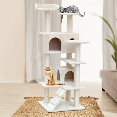 AU67.90 • Buy IPet Cat Tree Scratching Post Condo Scratcher Tower Play Trees House Furniture