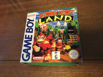AU49.95 • Buy Donkey Kong Land Boxed & Complete Nintendo Gameboy Game! AUS!  FAST POST!