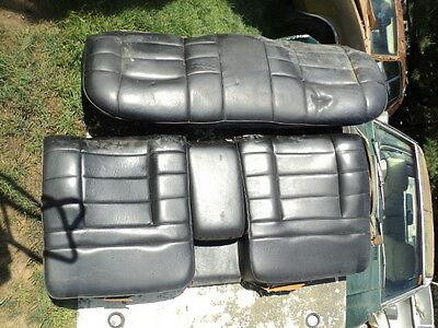 AU160 • Buy FORD ZF Zg Fairlane Rear Seat Black With Arm Rest