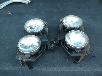 AU185 • Buy FORD Zf Zg  Fairlane Head Light Assemblies Left Right Pair Complete