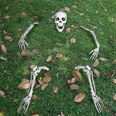 $41.80 • Buy Life Size Groundbreaker Skeleton Stakes For Halloween Yard Decorations