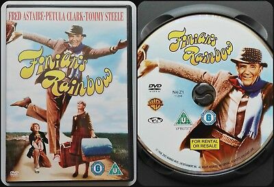 Finians Rainbow RARE DVD 1968 - FRED ASTAIRE Musical By FRANCIS FORD COPPOLA • 17.99£
