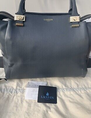 Lanvin Grey Trilogy Tote Bag - Amazing Condition/GENUINE • 670£