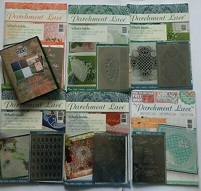 Parchment Lace Magazines With Grids And CD Rom • 30£
