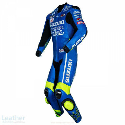 $199.99 • Buy Suzuki Ecstar Motorcycle 1PC Suit Leather Motorbike Sports Biker Racing Armour