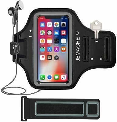 AU21 • Buy NEW IPhone X/XS/11Pro Armband Gym Run/Jog/Exercise Workout Arm Band Case (Black)