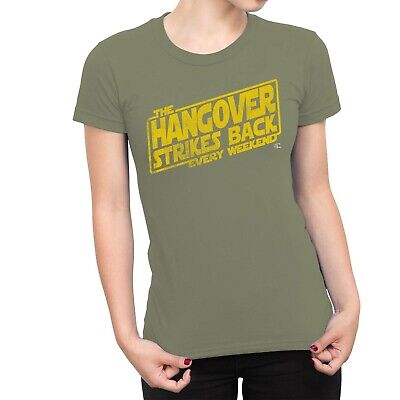 1Tee Womens The Hangover Strikes Back Every Weekend T-Shirt • 5.49£