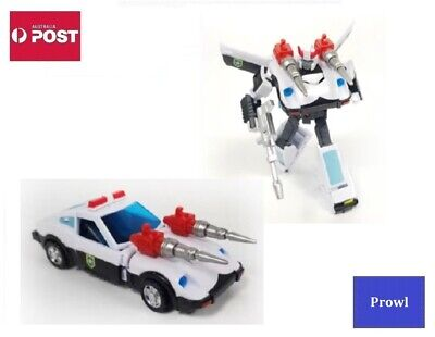 AU55 • Buy Transformers Autobot G1 Style Robot Toy - Prowl