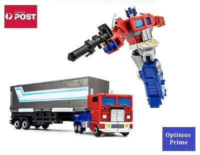 AU60 • Buy Transformers Autobot G1 Style Robot Toy - JINBAO Optimus Prime With Trailer