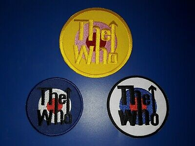 Set Of 5 Iconic NEW WAVE SKA ALTERNATIVE Rock Music Iron On Festival Patches