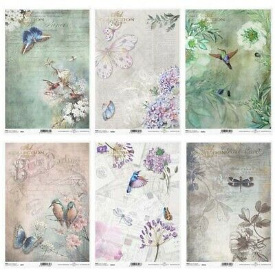 £2.99 • Buy ITD Collection C - Decoupage Rice Paper A4 Sheet - VARIOUS DESIGNS