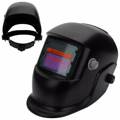 $ CDN20.75 • Buy 1Pcs Black Solar Powered Auto-Darkening Welding Helmet Grinding TIG Welder Mask