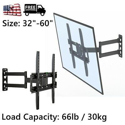 Table Top TV Stand Base Swivel Wall Mount For 32-60 Inch TV LED LCD Flat Screen • 18.36$