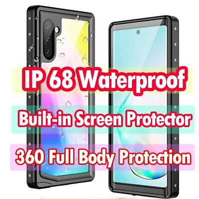 AU29.89 • Buy Full Body Waterproof Case Cover For Samsung Galaxy S10 S9 S8 Plus Note 9 10 Plus