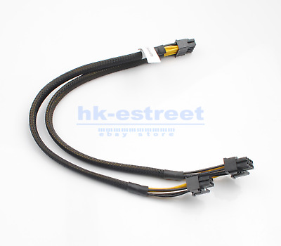 $ CDN19.59 • Buy NEW 8pin To 6+8pin Power Cable For DELL R730 And NVIDIA Quadro K6000 GPU 35cm