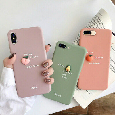 AU4.99 • Buy Case Cover For IPhone 11 Pro XS Max XR 6 7 8 Plus Cute 3D Cartoon Silicone Back