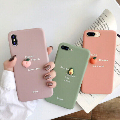AU4.99 • Buy Case Cover For IPhone 12 11 Pro XS Max XR 6 7 8 Plus 3D Cartoon Silicone Back