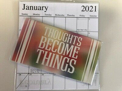 $ CDN3.23 • Buy  1-2020-2021 INSPIRATIONAL THOUGHTS BECOME  2 Year Pocket Calendar Planner