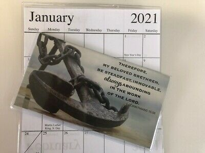 $ CDN3.23 • Buy  1-2020-2021 ANCHOR THEREFORE MY BELOVED 2 Year Pocket Calendar Planner