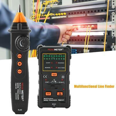 Cable Tester Wire T Racker Network Telephone Line Tracer Toner Lan Phone RJ11/45 • 25.62£