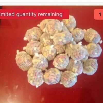 110 Pre Tied/pre/made/pre Filled PVA Mesh Bags Special Offer • 18£