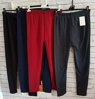 £6.99 • Buy Thick Ladies High Waist Thermal Leggings Fleece Lined Size Plus 16 18 20 22 24