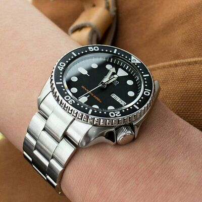 $ CDN117.75 • Buy Premium 22mm Watch Band Screw Fixed Links Dedicated For SEIKO Diver/Solid 316L