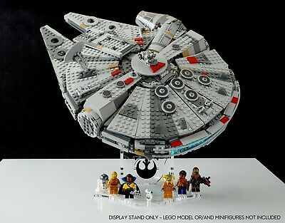 $25.99 • Buy Display Stand Angled BK-(36°) For Lego 75257-75212-75105-4504 Millennium Falcon