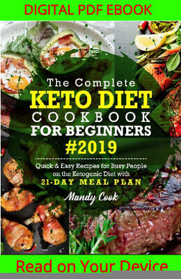 $0.99 • Buy The Complete Keto Diet Cookbook For Beginners 2019 {ṖDF&EṖUB}